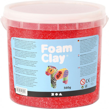 Image of   Foam Clay®, rød, 560g