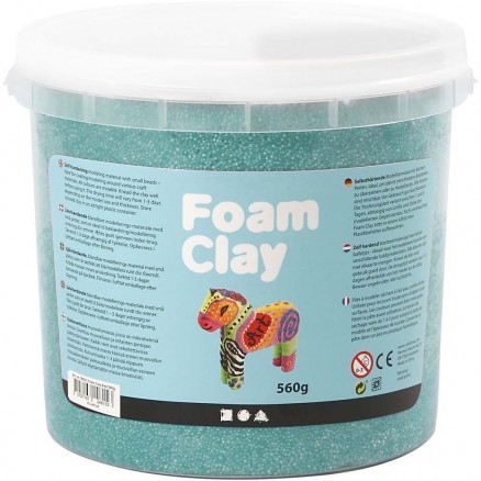 Image of   Foam Clay®, mørk grøn, 560g
