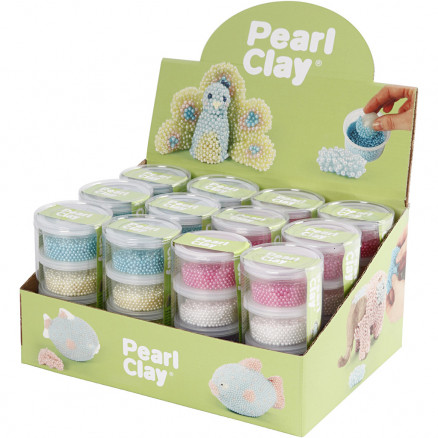Pearl Clay®, ass. farver, 12sæt thumbnail