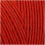 Knyttegarn, L: 315 m, tykkelse 1 mm, rød, Tynd kvalitet 12/12, 220g