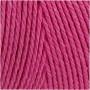 Knyttegarn, L: 315 m, tykkelse 1 mm, pink, Tynd kvalitet 12/12, 220g