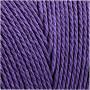 Knyttegarn, L: 315 m, tykkelse 1 mm, violet, Tynd kvalitet 12/12, 220g