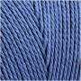 Knyttegarn, L: 315 m, tykkelse 1 mm, blå, Tynd kvalitet 12/12, 220g