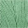 Knyttegarn, L: 315 m, tykkelse 1 mm, lys grøn, Tynd kvalitet 12/12, 220g