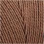 Knyttegarn, L: 315 m, tykkelse 1 mm, brun, Tynd kvalitet 12/12, 220g