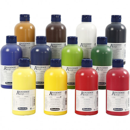 Schmincke AKADEMIE® Acryl color,  , 12x500ml thumbnail