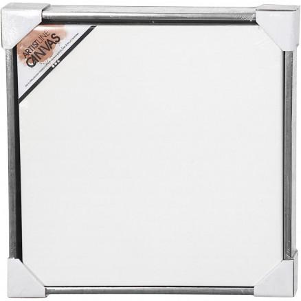 ArtistLine Canvas med ramme, udv. mål 54x54 cm, dybde 3 cm, hvid, anti thumbnail
