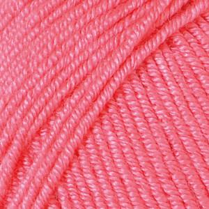 Järbo soft raggi garn unicolor 31213 koral fra Järbo fra rito.dk
