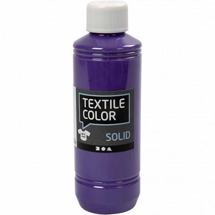 Textile Solid, lilla, dækkende, 250ml thumbnail