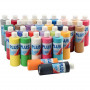 Plus Color hobbymaling, ass. farver, 30x250ml