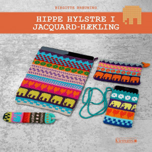 Hippe hylstre i jacquard-hækling - Bog af Birgitte Breuning