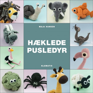 Hæklede pusledyr - Bog af Maja Hansen