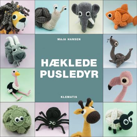 Image of   Hæklede pusledyr - Bog af Maja Hansen