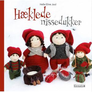 Hæklede nissedukker - Bog af Helle Eline Juul
