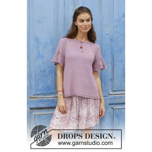 Sweet Susanby DROPS Design - Top Strikkeopskrift str. S-XXXL