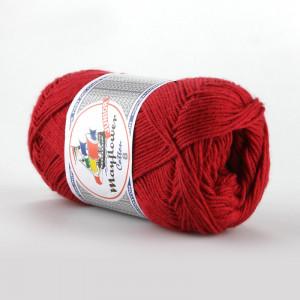 Mayflower Cotton 8/4 Junior Garn Unicolor 1412 Mørkerød