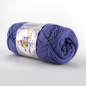 Mayflower Cotton 8/4 Junior Garn Unicolor 1417 Lavendel