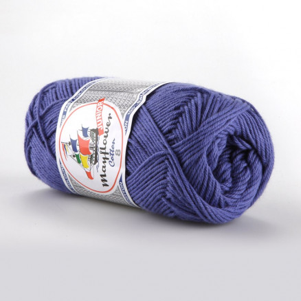 Image of   Mayflower Cotton 8/4 Junior Garn Unicolor 1417 Lavendel