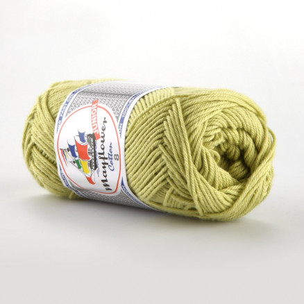 Image of   Mayflower Cotton 8/4 Junior Garn Unicolor 1426 Lime