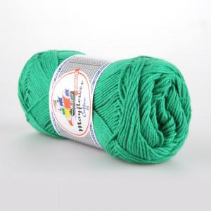 Mayflower Cotton 8/4 Junior Garn Unicolor 1427 Grøn