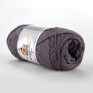 Mayflower Cotton 8/4 Junior Garn Unicolor 1441 Grålilla