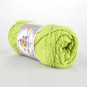 Mayflower Cotton 8/4 Junior Garn Unicolor 1446 Lysegrøn