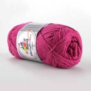 Mayflower Cotton 8/4 Junior Garn Unicolor 1470 Cerise