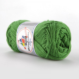 Mayflower Cotton 8/4 Junior Garn Unicolor 1476 Græsgrøn