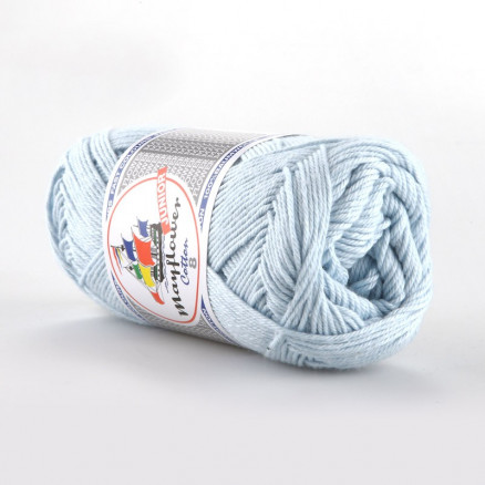 Image of   Mayflower Cotton 8/4 Junior Garn Unicolor 1479 Lyseblå