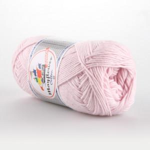 Mayflower Cotton 8/4 Junior Garn Unicolor 1488 Lys Rosa
