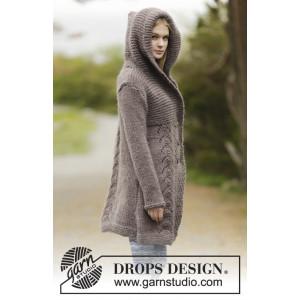 Into The Woods by DROPS Design - Jakke Strikkeopskrift str. S - XXXL
