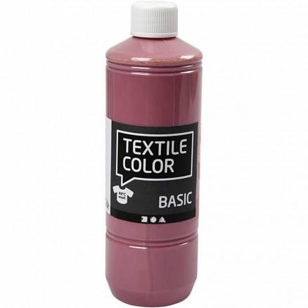 Textile Color, mørk rosa, 500ml thumbnail