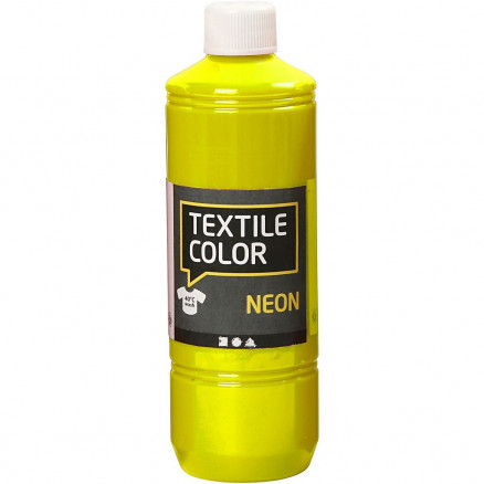Textile Color, neon gul, 500ml thumbnail