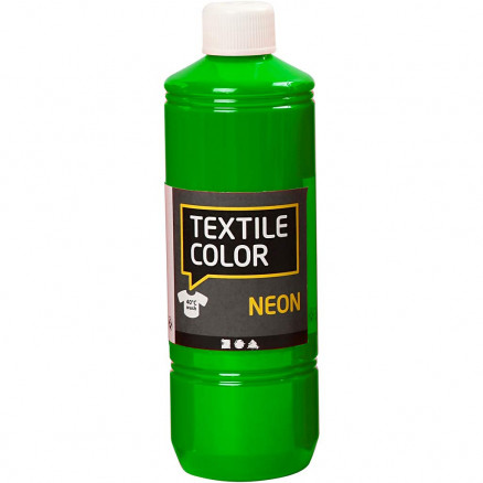 Textile Color, neon grøn, 500ml thumbnail