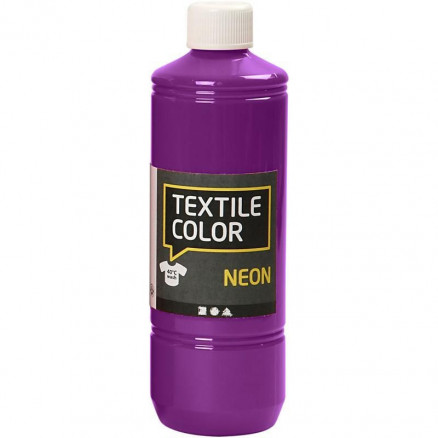 Textile Color, neon lilla, 500ml thumbnail