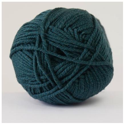Hjertegarn Merino Cotton 4820 Mørk Blågrøn
