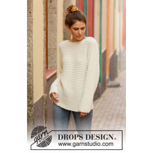 Daily Wonder by DROPS Design - Bluse Strikkeopskrift str. S - XXXL