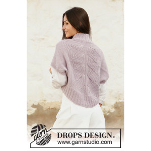 Sweet Angel by DROPS Design - Bolero Strikkeopskrift str. S - XXXL