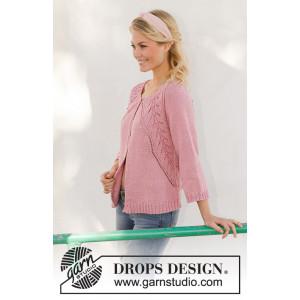 Sweet Heather Jacket by DROPS Design - Jakke Strikkeopskrift str. S - XXXL