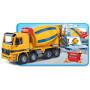 Contruck Lastbil med Betonblander Gul/Blå 41cm