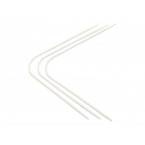 Neko Strømpepinde Plastik Hvid 2,00 mm / US 0