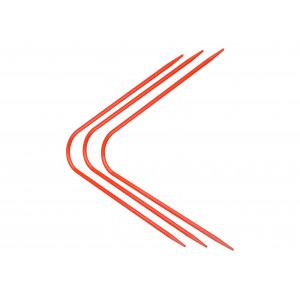 Neko Strømpepinde Plastik Rød 2,50 mm / US 1½