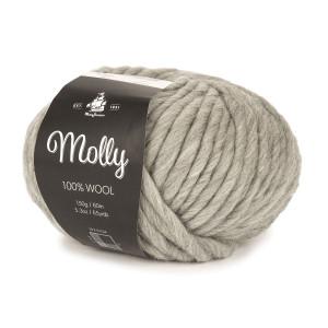 Mayflower Molly Garn Unicolor 08 Cool Grey