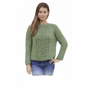 Clover by DROPS Design - Bluse Strikkeopskrift str. S - XXXL