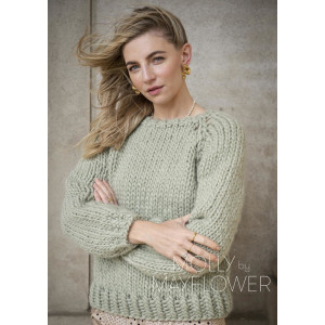 RuthSweateren Molly by Mayflower - Sweater Strikkeopskrift str. S -XL