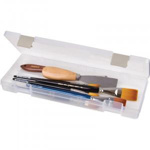 ArtBin Plastboks til strikkepinde Transparent 31,5x11,5x3,5 cm