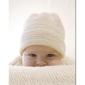 Peek-a-boo by DROPS Design - Baby Hue Strikkeopskrift str. Præmatur - 3/4 år