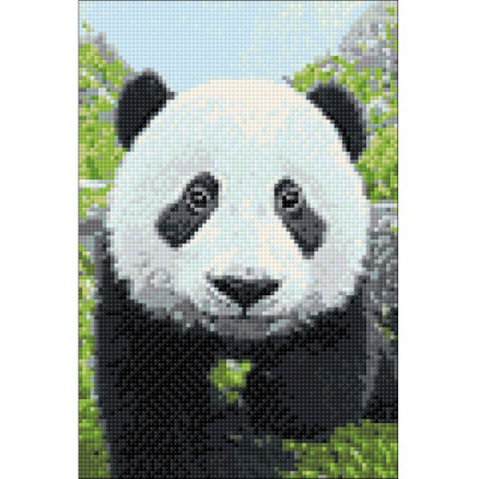 Wizardi Diamond Painting Pakke Panda 20x30cm thumbnail