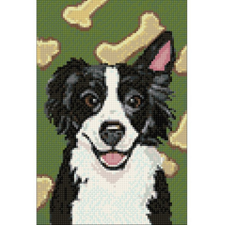Wizardi Diamond Painting Pakke Hund 20x30cm thumbnail