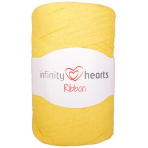Infinity Hearts Ribbon Stofgarn 27 Gul
